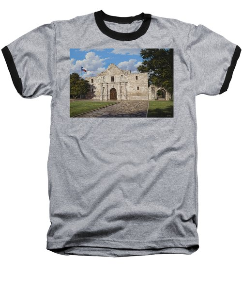 The Alamo Baseball T-Shirt by Kyle Wood