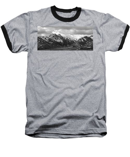 The Alaskan Range Baseball T-Shirt