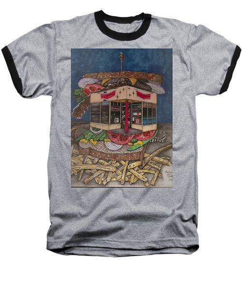 The All Star Sandwich Bar Baseball T-Shirt
