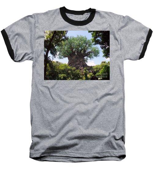 The Amazing Tree Of Life  Baseball T-Shirt by Lingfai Leung