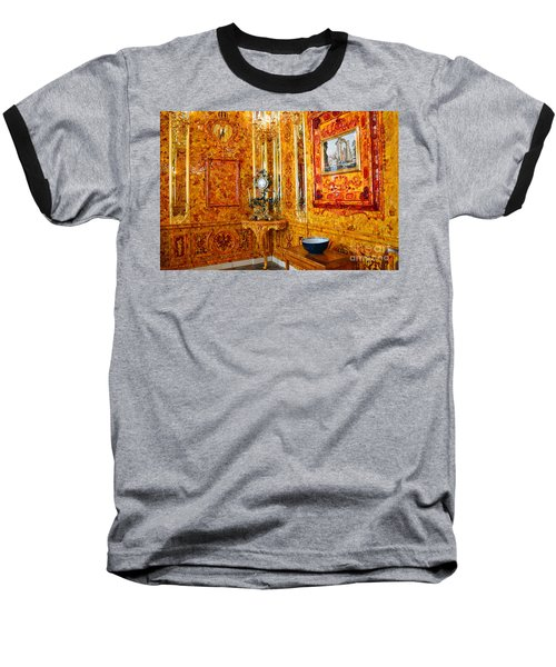 The Amber Room At Catherine Palace Baseball T-Shirt