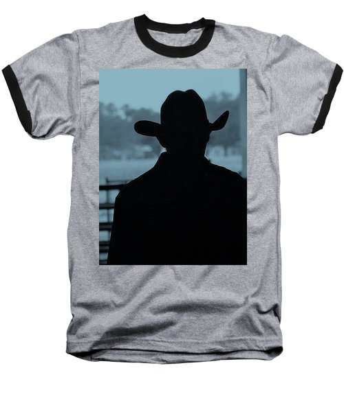 Baseball T-Shirt featuring the photograph The American Cowboy by John Glass