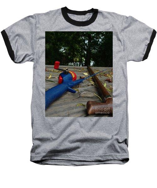 The Anglers Baseball T-Shirt by Peter Piatt