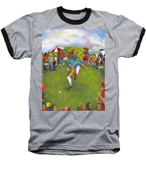 The Angry Golfer  Baseball T-Shirt