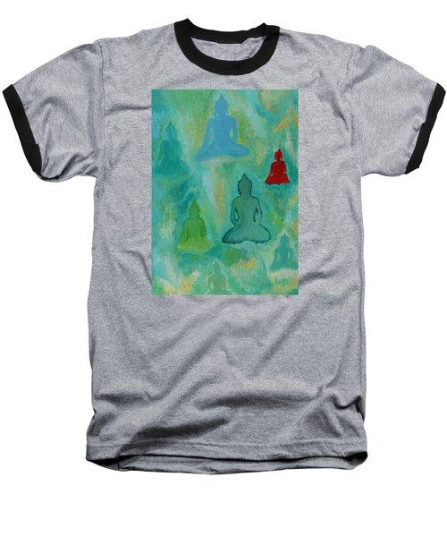 Buddhas Appear Baseball T-Shirt