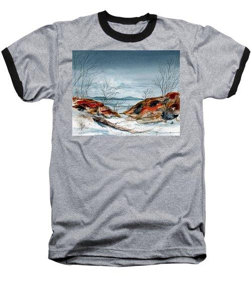 The Approaching Evening Baseball T-Shirt