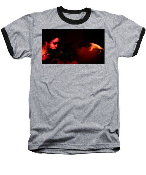 Baseball T-Shirt featuring the photograph The Architect Of Red  by Jessica Shelton