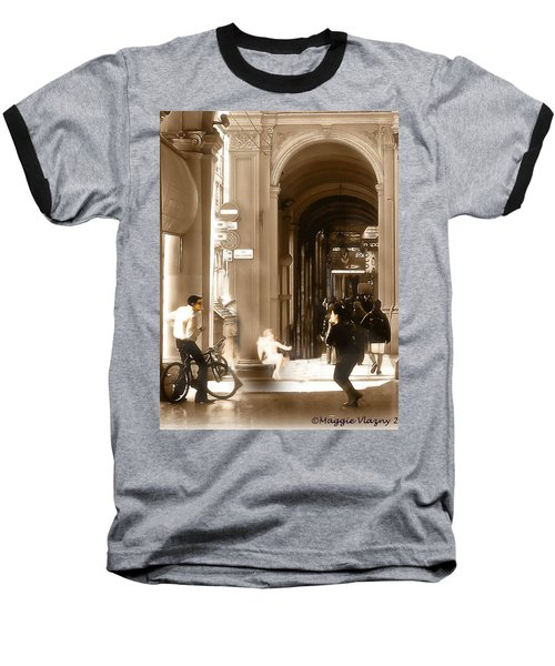 The Art Of Love Italian Style Baseball T-Shirt