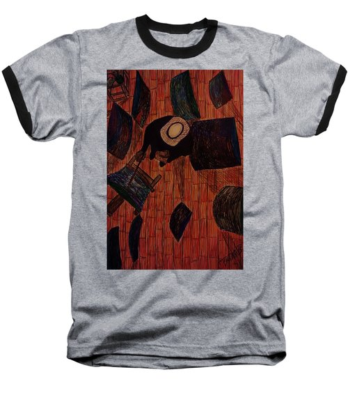 The Artist's Perspective Baseball T-Shirt by Christy Saunders Church
