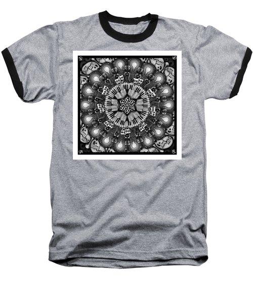 Mandalart Baseball T-Shirt