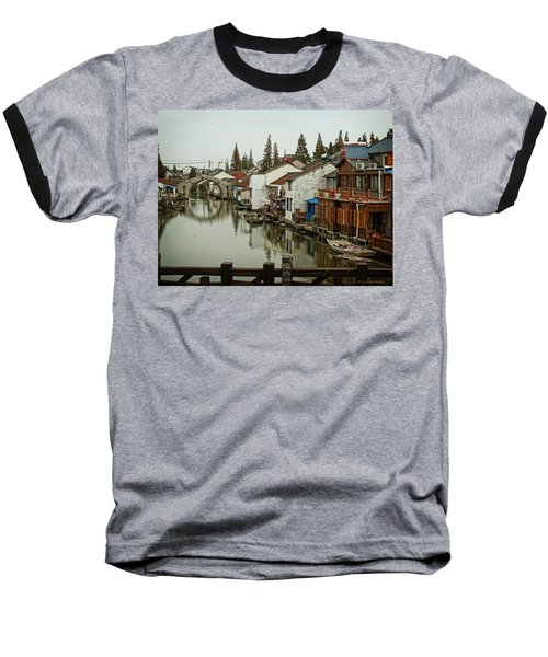 Baseball T-Shirt featuring the photograph The Asian Venice  by Lucinda Walter