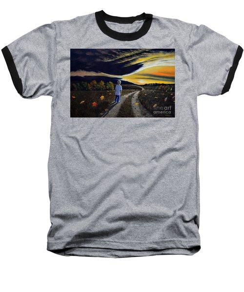 The Autumn Breeze Baseball T-Shirt