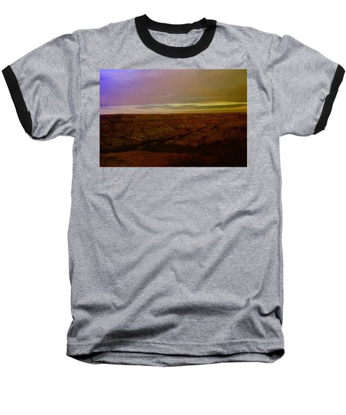 The Badlands Baseball T-Shirt by Jeff Swan