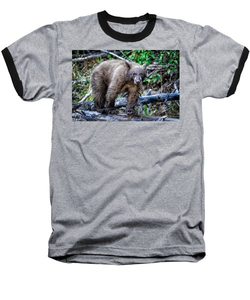 Baseball T-Shirt featuring the photograph The Balance Beam by Jim Thompson