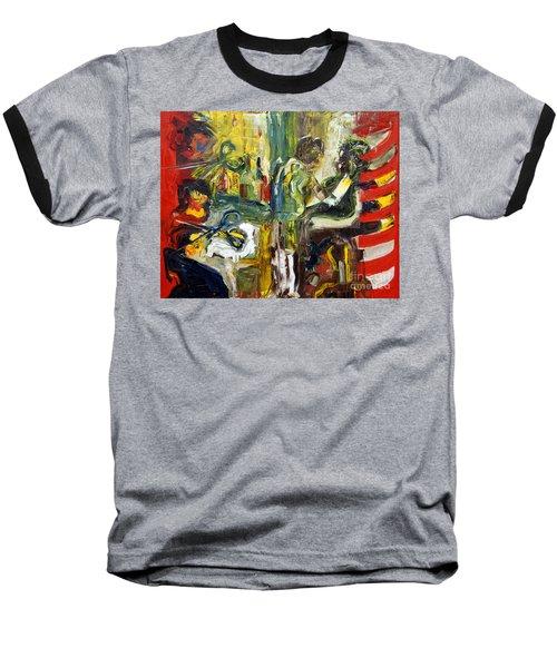 The Barbers Shop - 1 Baseball T-Shirt
