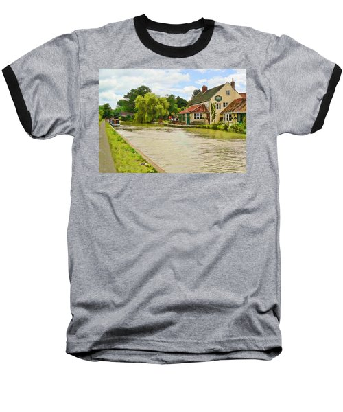 The Barge Inn Seend Baseball T-Shirt