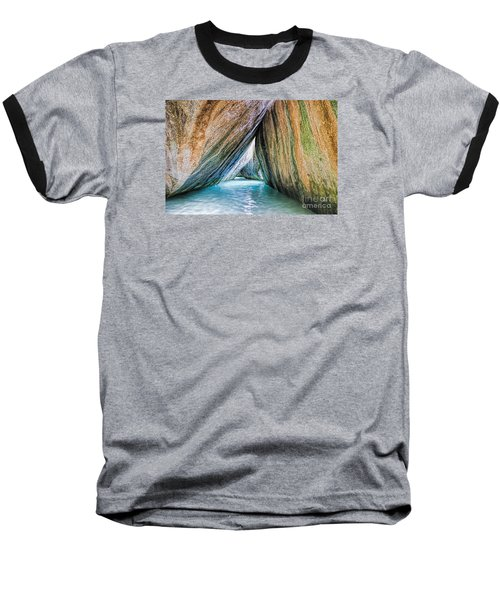 The Baths Virgin Gorda British Virgin Islands Baseball T-Shirt