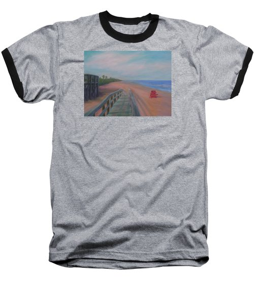 The Beach At Flagler Beach Baseball T-Shirt