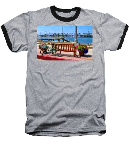 The Beach Cruiser Baseball T-Shirt