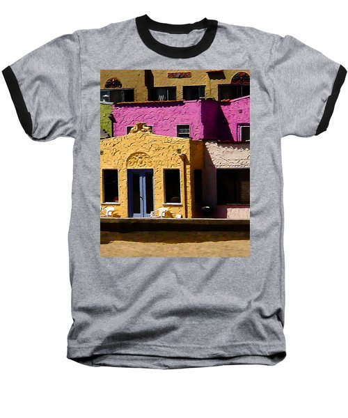 Baseball T-Shirt featuring the photograph The Beach House by Jim Thompson