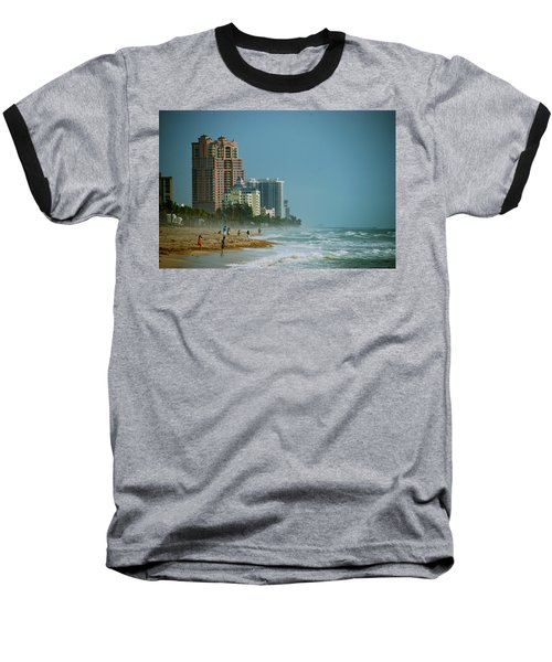 The Beach Near Fort Lauderdale Baseball T-Shirt