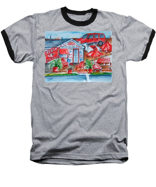 The Beach Shack Baseball T-Shirt