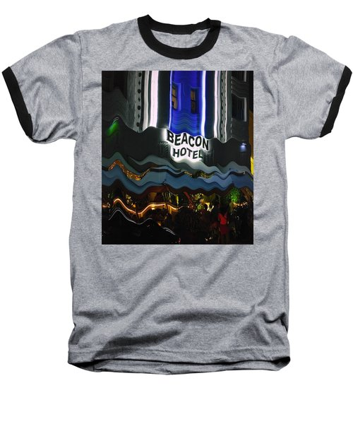 The Beacon Hotel Baseball T-Shirt