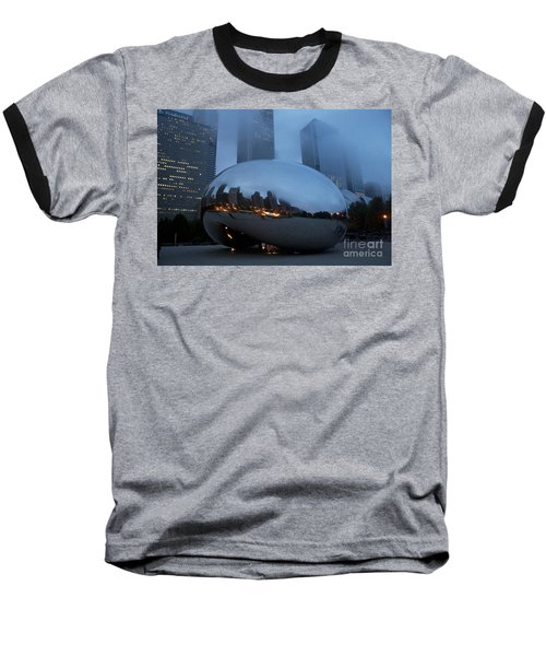 The Bean And Fog Baseball T-Shirt