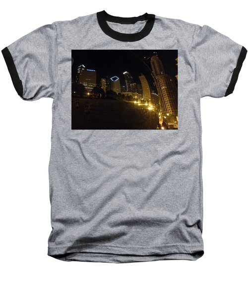 Baseball T-Shirt featuring the photograph The Bean by Tiffany Erdman