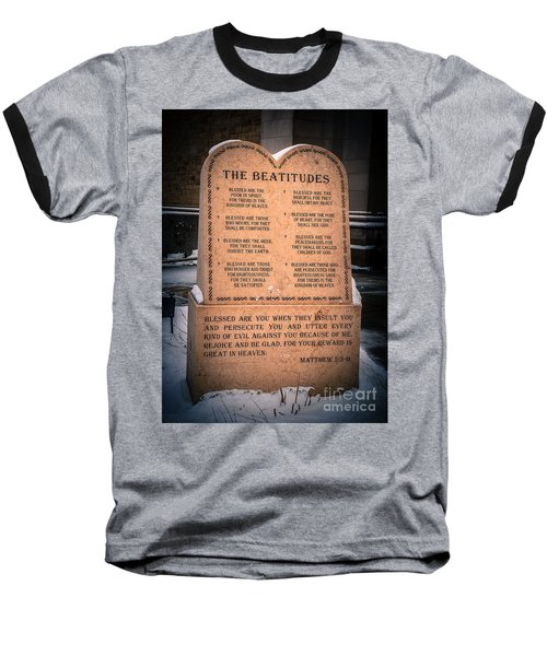 The Beatitudes Baseball T-Shirt