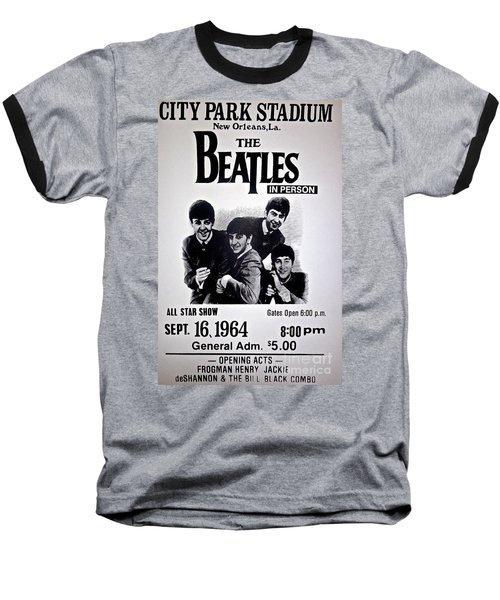The Beatles Circa 1964 Baseball T-Shirt