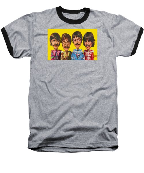 The Beatles Baseball T-Shirt