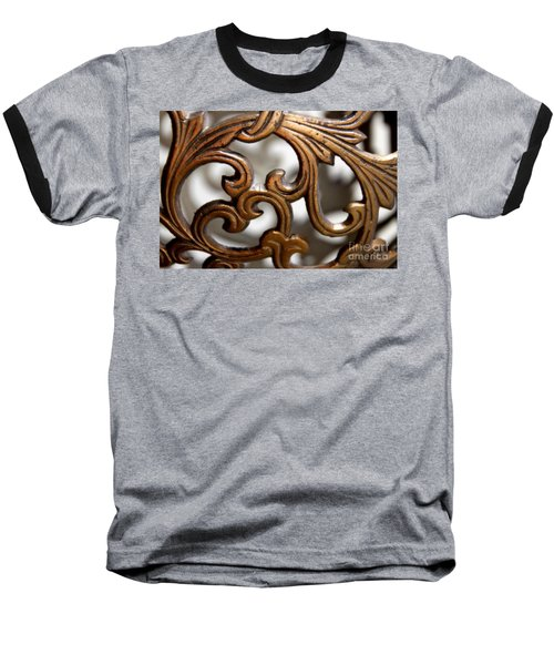 The Beauty Of Brass Scrolls 1 Baseball T-Shirt