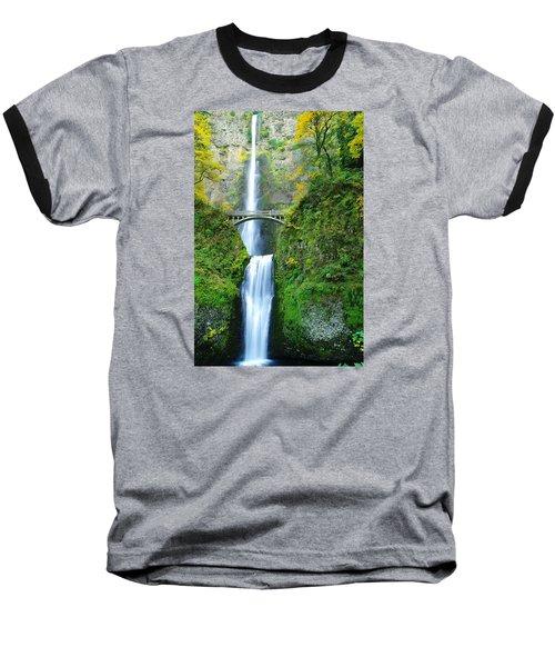 The Beauty Of Multnomah Falls Baseball T-Shirt