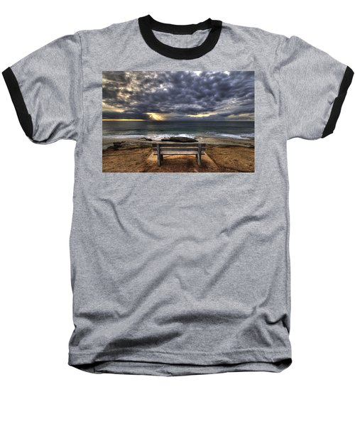 The Bench Baseball T-Shirt by Peter Tellone