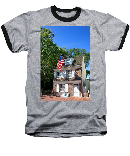 The Betsy Ross House Baseball T-Shirt