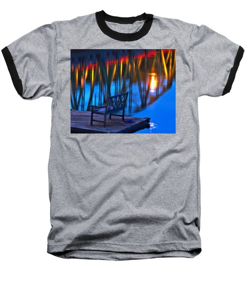The Bidge At Sunset Baseball T-Shirt