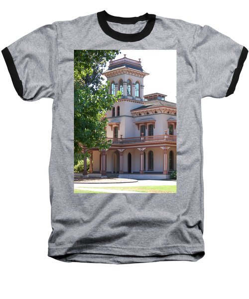 The Bidwell Mansion Baseball T-Shirt