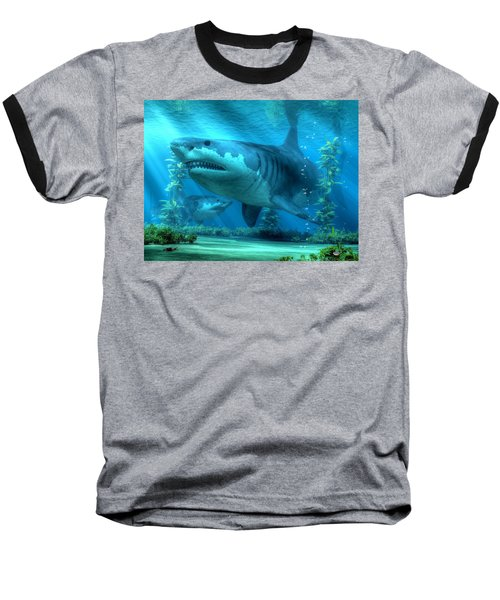The Biggest Shark Baseball T-Shirt