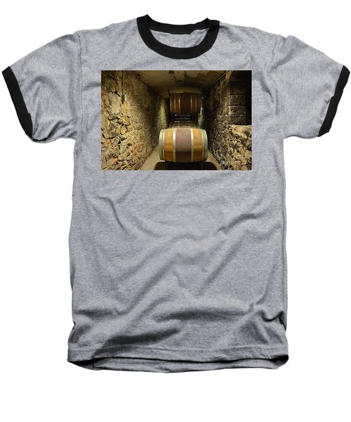 The Biltmore Estate Wine Barrels Baseball T-Shirt