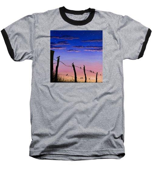The Birds - Morning Has Broken Baseball T-Shirt