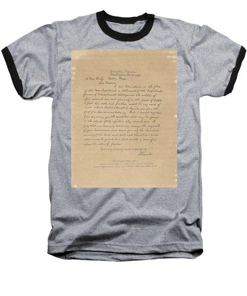 The Bixby Letter Baseball T-Shirt