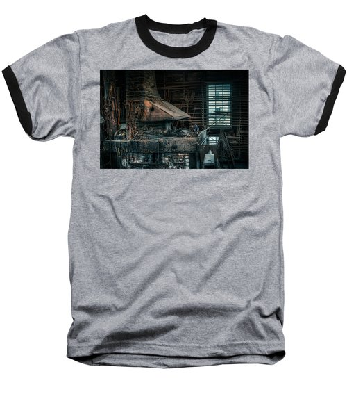 The Blacksmith's Forge - Industrial Baseball T-Shirt