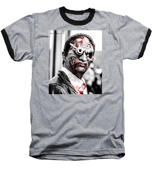 Baseball T-Shirt featuring the photograph The Bloody Devil by Stwayne Keubrick