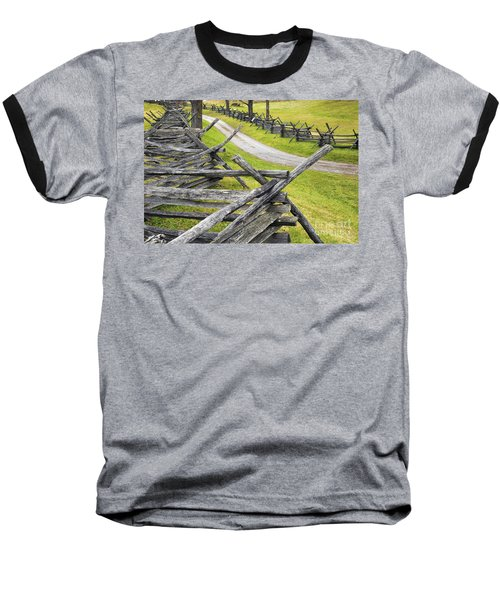 The Bloody Lane At Antietam Baseball T-Shirt by Paul W Faust -  Impressions of Light