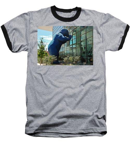 The Blue Bear  Baseball T-Shirt