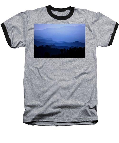 Baseball T-Shirt featuring the photograph The Blue Hills by Matt Harang