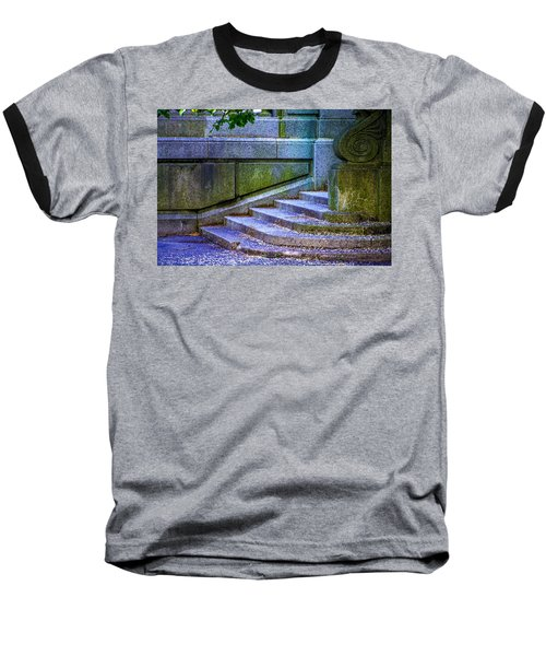 The Blue Stairs Baseball T-Shirt