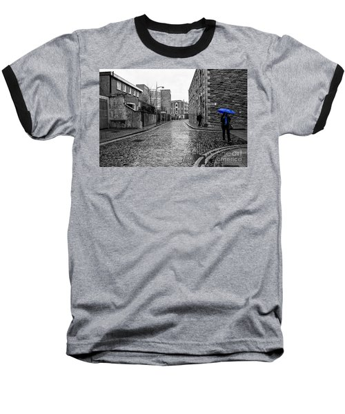The Blue Umbrella - Sc Baseball T-Shirt by Mary Carol Story
