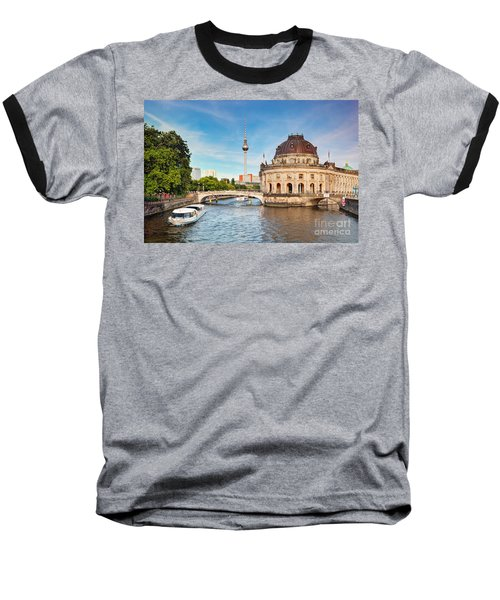 The Bode Museum Berlin Germany Baseball T-Shirt